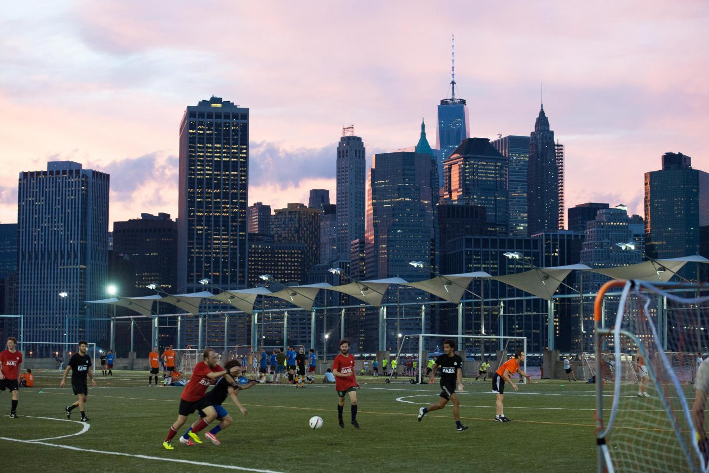 Where to play Amateur Co-Ed Drop in or Pick Up Soccer in New York, Manhattan area