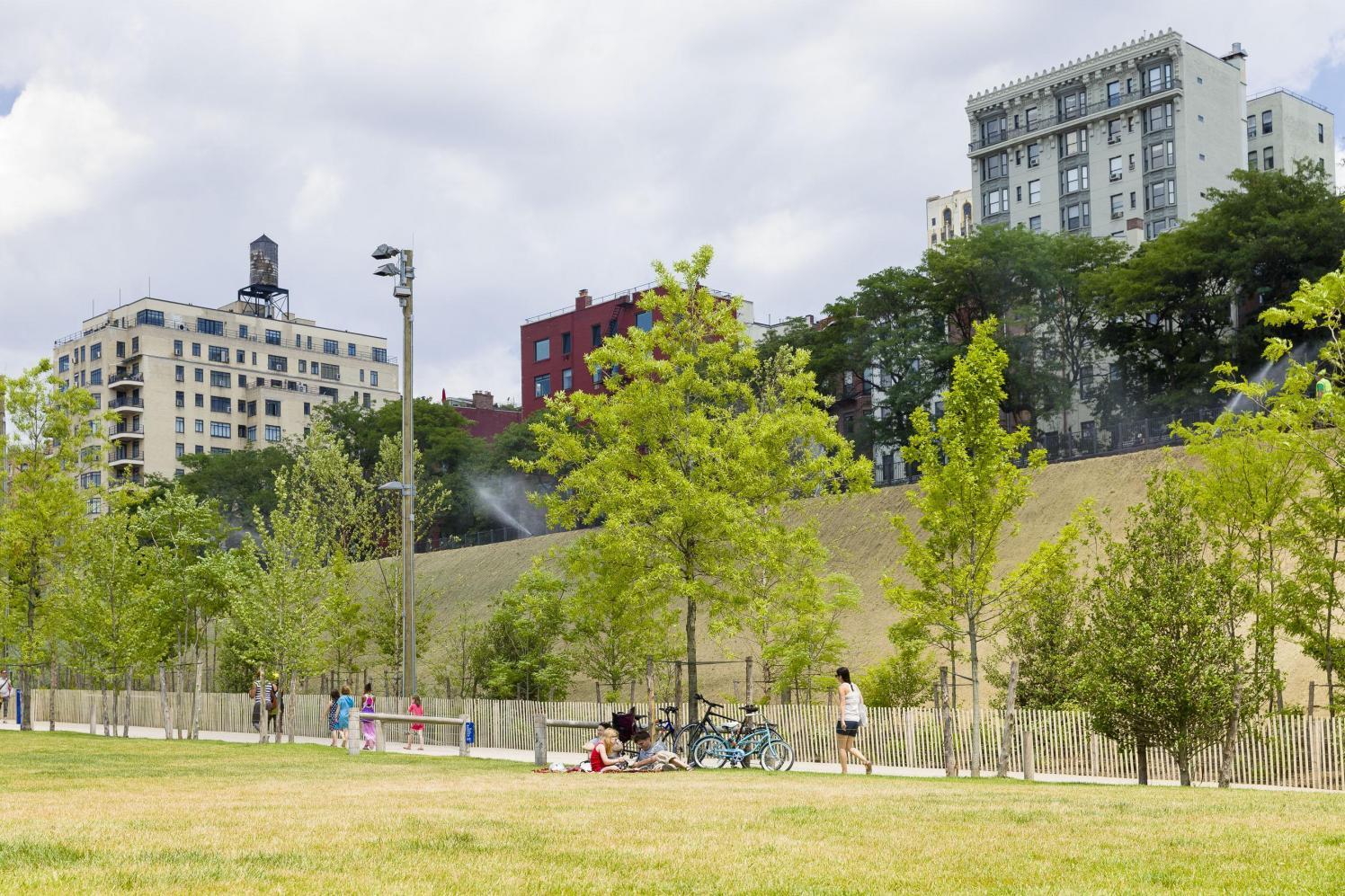A Berm Grows In Brooklyn Brooklyn Bridge Park