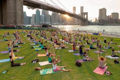 Fitness Brooklyn Bridge Park