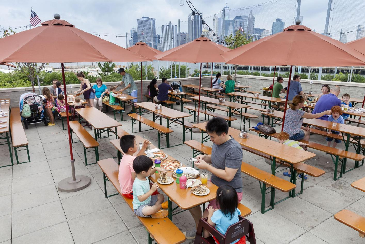 Eats Drinks Brooklyn Bridge Park