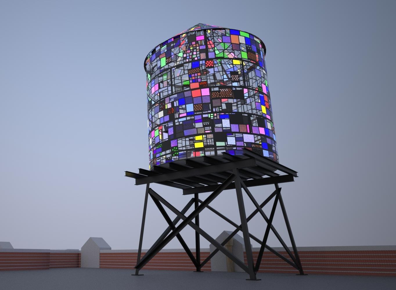 Bbp Welcomes Tom Fruin S Watertower 3 R V Ingersoll