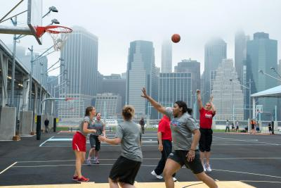 Youth Basketball Clinic - Brooklyn Bridge Park