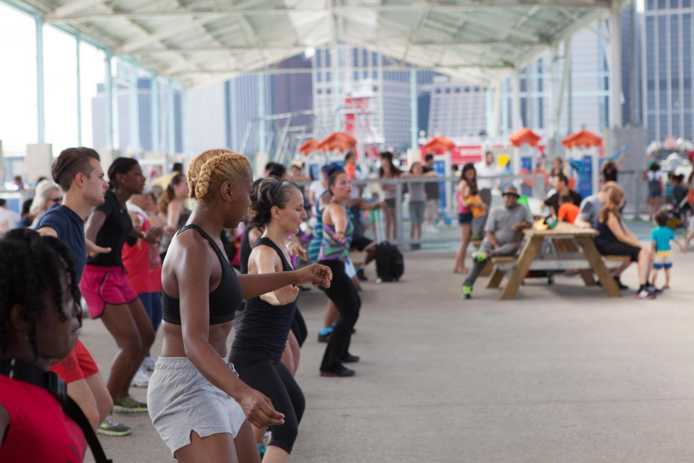 Image result for body combat with dodge YMCA