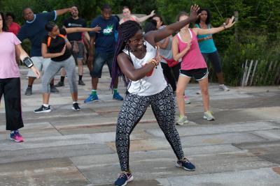 Hip Hop Dance Aerobics - Brooklyn Bridge Park