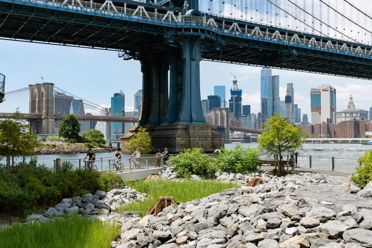 John Street Brooklyn Bridge Park