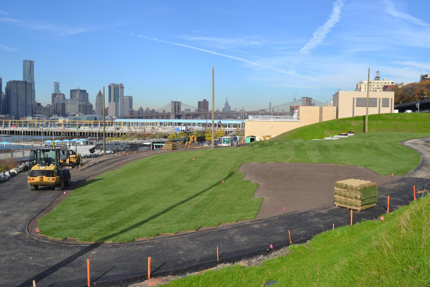 Construction Update Pier 5 Facilities And Landscape