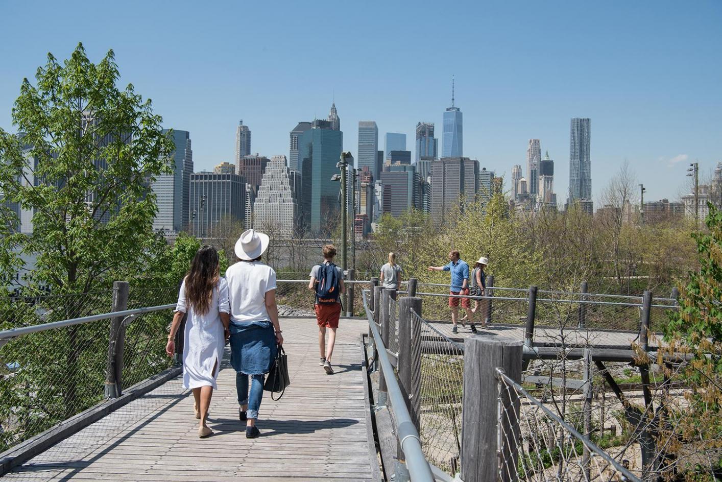 High Point Lacrosse >> Squibb Park & Bridge - Brooklyn Bridge Park