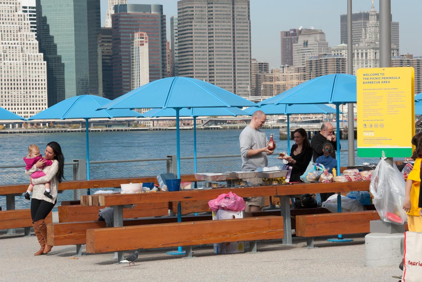 Pier 5 Brooklyn Bridge Park