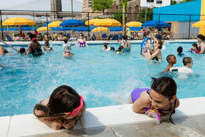 Swimming Brooklyn Bridge Park