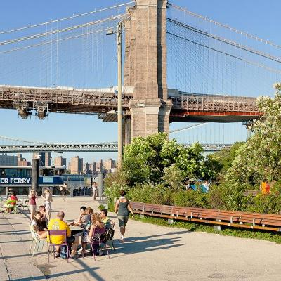 Fulton Ferry Landing - Brooklyn Bridge Park